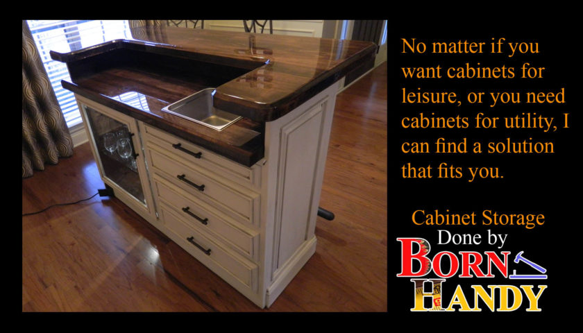 Cabinets, In the Garage or Otherwise.