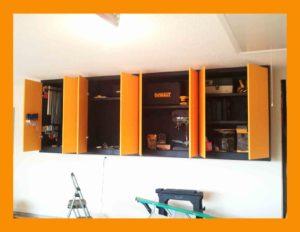 Garage Cabinets Open