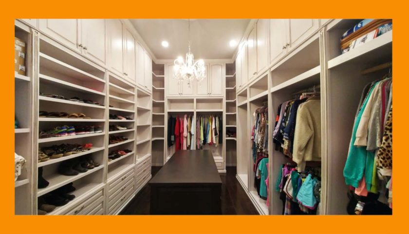 Closets | Custom built for you.