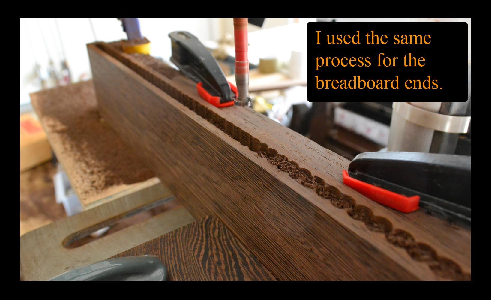 breadboard mortise