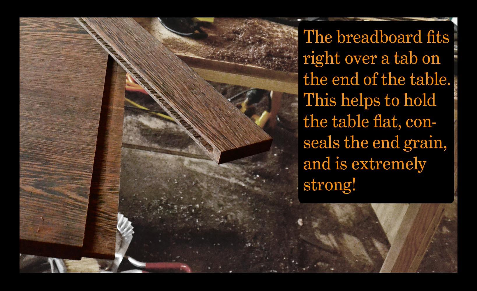 breadboard tenon